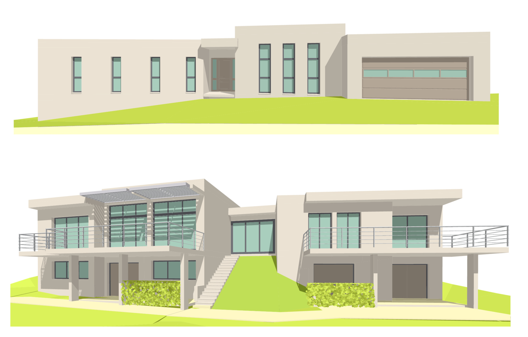 Michel jarthon architecte dplg maisons for Plan architecte maison moderne